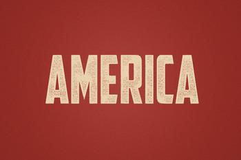 Text Effect - Hometown Vintage #12 (America)
