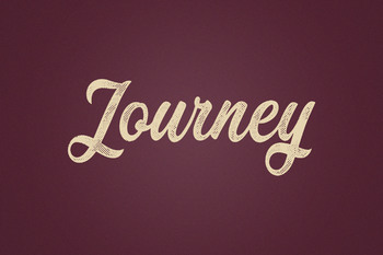 Text Effect - Hometown Vintage #5 (Journey)
