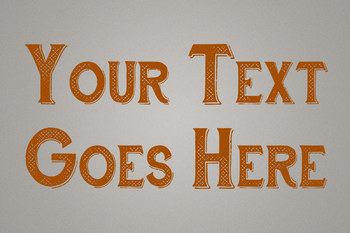 Text Effect - Hometown Vintage #7 (Classic)