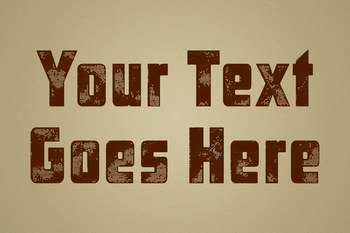 Text Effect - Hometown Vintage #8 (Music)