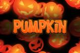 Text Effect - Horror & Halloween #4 (Pumpkin)