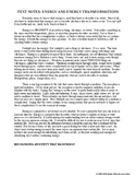 Text: Energy transformation and conservation (physics)