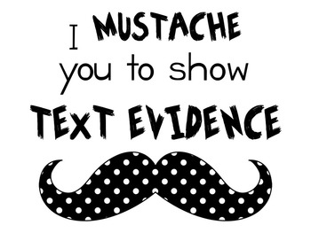 Text Evidence