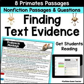 Reading Comprehension Nonfiction Passages BUNDLE Google Drive Distance Learning