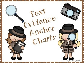 Text Evidence Anchor Charts