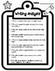 Text Evidence Based Writing Analysis Crayon Activity
