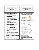 Text Evidence Bookmarks