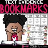 Text Evidence Bookmarks (Freebie)