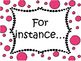 Text Evidence Bulletin Board display with copybook notes- PINK
