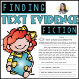 Citing Text Evidence   Comprehension Passages