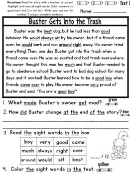 Text Evidence Citing (Reading Comprehension) Bundle!