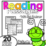 Text Evidence/Comprehension Passages