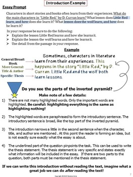 TEXT EVIDENCE EXPOSITORY ESSAY WRITING: GRADES 4-5