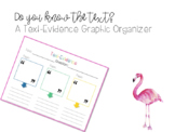Text-Evidence Graphic Organizer