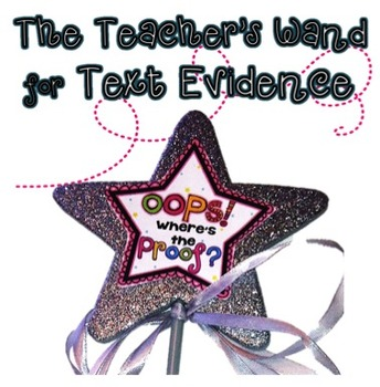 Text Evidence Kit: A POOF of PROOF- Motivators to Find Evidence! (Grade 4)