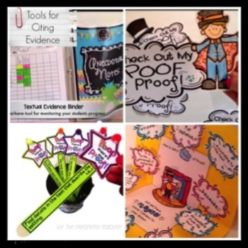 Text Evidence Kit: A POOF of PROOF- Motivators to Find Evidence! (Grade 5)