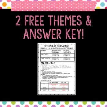 Text Evidence Paragraph of the Day FREEBIE