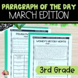 Text Evidence Paragraph of the Day March Edition