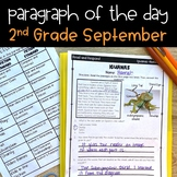 Text Evidence Passages for 2nd Grade - September Edition