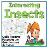 Spring Reading Comprehension Passages and Questions for Second and Third Grade