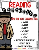 Text Evidence (Reading Detective)