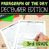 Text Evidence Reading Paragraph of the Day December Edition