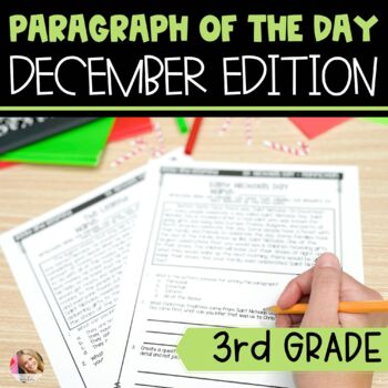 Text Evidence Paragraph of the Day-December
