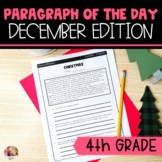 Text Evidence Reading Paragraph of the Day December Editio