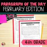 Text Evidence Reading Paragraph of the Day February Editio