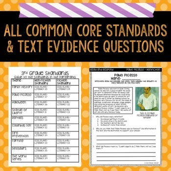 Text Evidence Paragraph of the Day-October