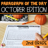 Text Evidence Reading Paragraph of the Day October Edition