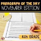 Text Evidence Reading Paragraph of the Day November Editio