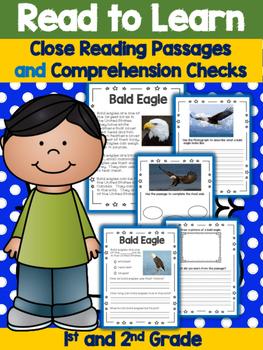 Nonfiction Passages - Close Reading Activities