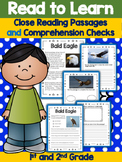 Nonfiction Passages - Close Reading Activities