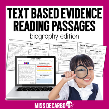 Social studies history teaching resources lesson plans text evidence reading passages biography edition text evidence reading passages biography edition fandeluxe Choice Image
