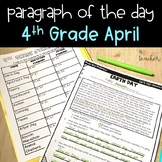 Text Evidence Reading Passages for 4th Grade - April Edition