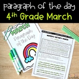 Text Evidence Reading Passages for 4th Grade - March Edition