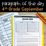 Text Evidence Reading Passages for 4th Grade - September Edition