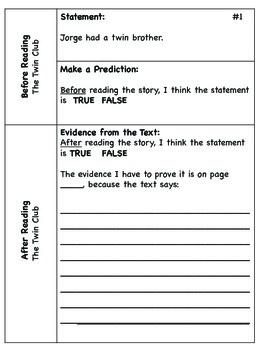 Reading Street CC 2013 Text Evidence Unit 1