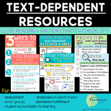 Text Evidence Resources