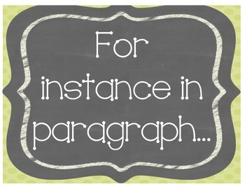 {Five} Text Evidence Sentence Starter Posters