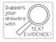 Text Evidence Sticks