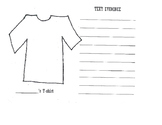 Text Evidence T-shirt activity