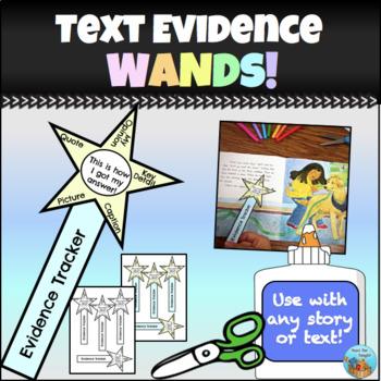 Text Evidence Wand