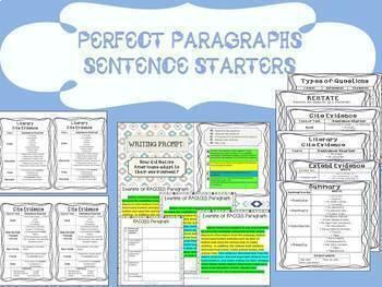 Text-Evidence Writing Bundle