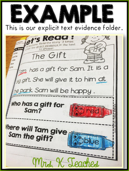 Text Evidence for Beginners-Summer