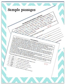 Text Evidence with fiction and non-fiction sample