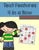 Text Feature Activity - Bingo