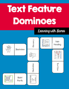 Text Feature Activity - Dominoes