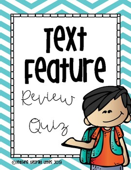 Nonfiction Text Feature Assessment